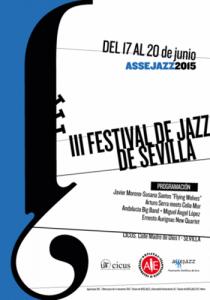 Cartel III Festival de Jazz de Sevilla