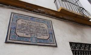 La abandonada casa de José María Izquierdo / F.P.