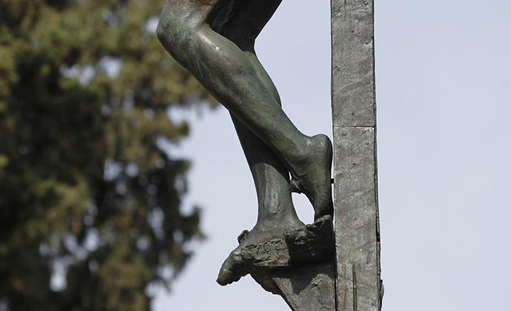 Los polémicos pies del Cristo de Las Mieles, que según la leyenda le costaron la vida a Antonio Susillo / Vanessa Gómez