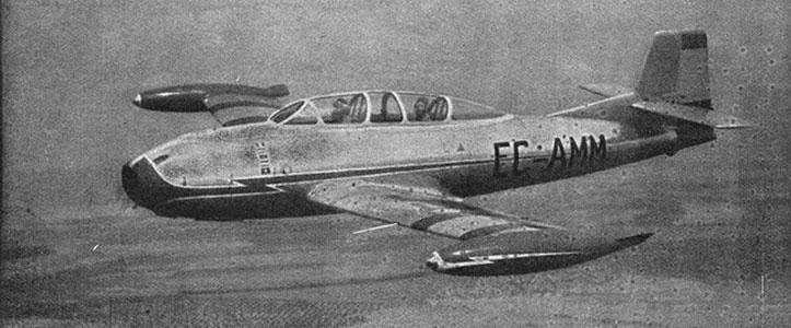 HA-200 Saeta, sucesor del Triana.