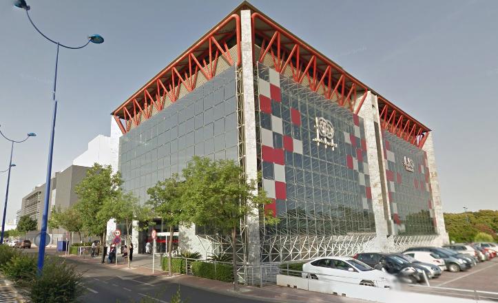 Fundación Once de Sevilla, en la Isla de la Cartuja / Google Maps