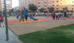Parque infantil de Bordas La Rosaleda
