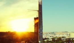 Un vídeo en time-lapse muestra la construcción de la Torre Pelli en 5 años