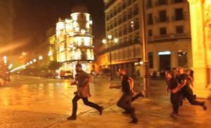 Persecución en la plaza de San Francisco / S.Films