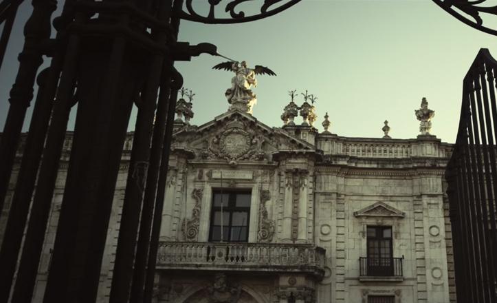 Así se presenta el Rectorado de la Universidad de Sevilla en «Asesinos inocentes», de Áralan Films