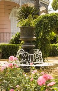Detalle de los Jardines de Villa Eugenia / Fran Piñero