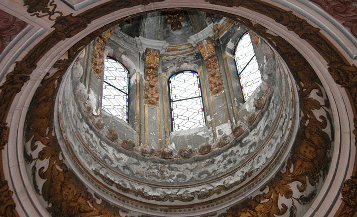La cúpula de la Magdalena