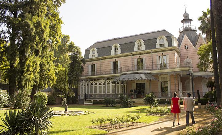 Los jardines de la casa rosa joya rom ntica que se abre a sevilla sevilla ciudad - Jardines de sevilla ...