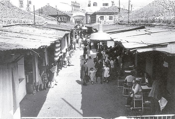 El mercado de Triana en los años setenta / ÁNGEL DOBLADO