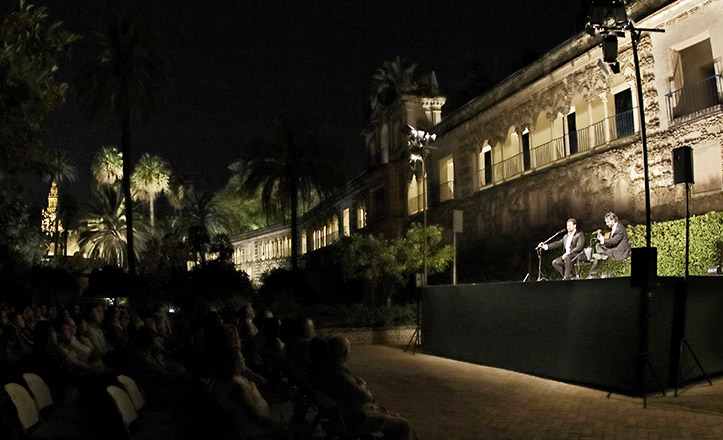 Noches en los Jardines del Alcázar 2015 / Juan Flores