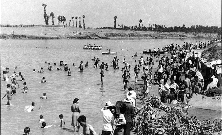 María Trifulca, la playa de Sevilla entre los años 20 y 50, se situaba en la Punta del Verde