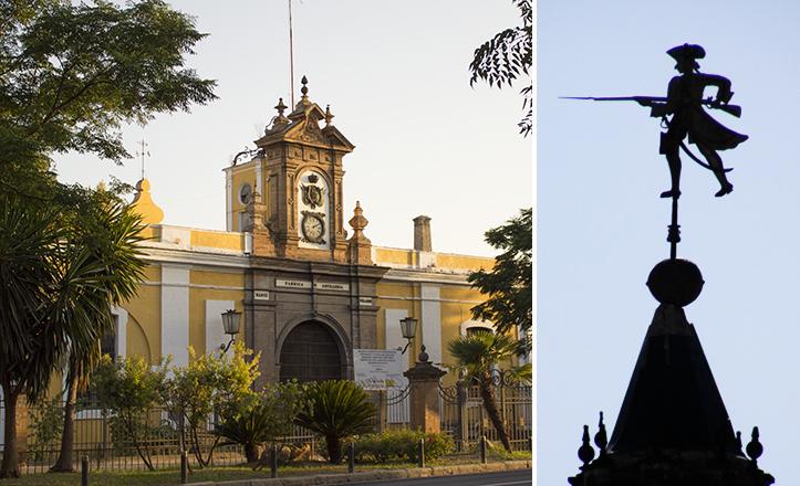 El soldado de Artillería lleva ausente un año, cuando fue retirado por riesgo de desprendimiento / Fran Piñero - Fco Javier (Cofrades PS)