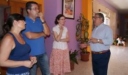 Zoido visita el Centro Escolar Infantil La Providencia Jesús-María en el Polígono sur