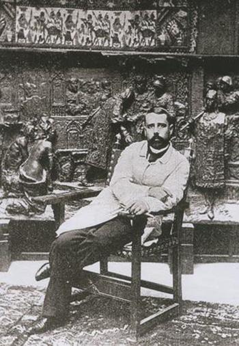 El escultor Antonio Susillo