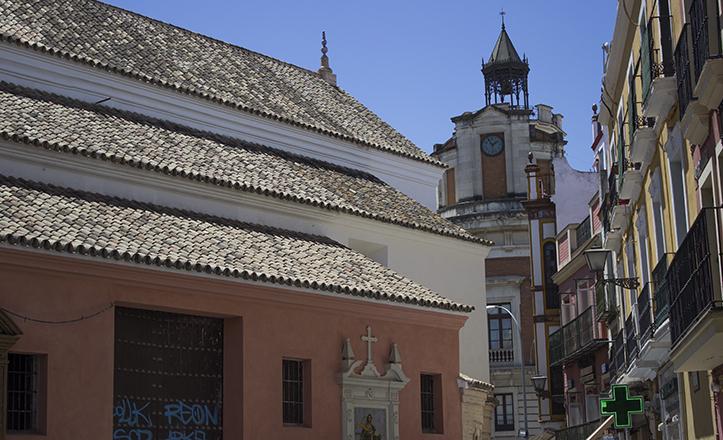 El tramo correspondiente a la Hemeroteca Municipal, y su semblanza madrileña, visto desde Santa Catalina / Fran Piñero
