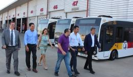 Juan Carlos Cabrera visita Tussam