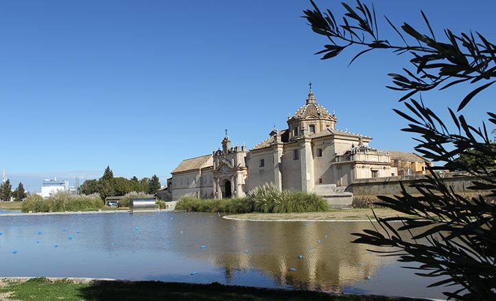 Monasterio de la cartuja de crist bal col n a nocturama - Ceramica de la cartuja ...