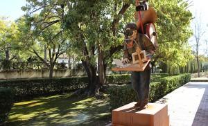 «Como un monumento al artista» / Fran Piñero