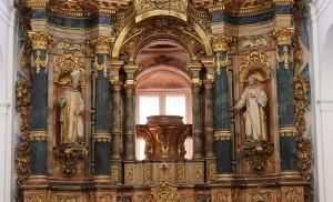 Hornacina vacía de la Capilla «de» Santa teresa / F.P.