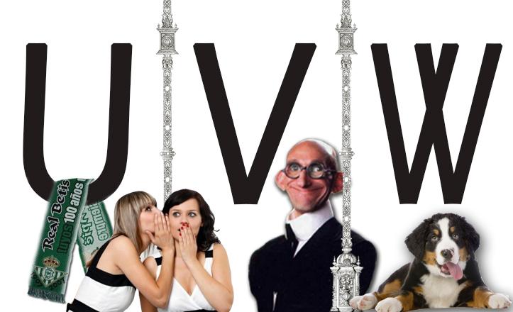 Diccionario sevillano: letras U, V y W