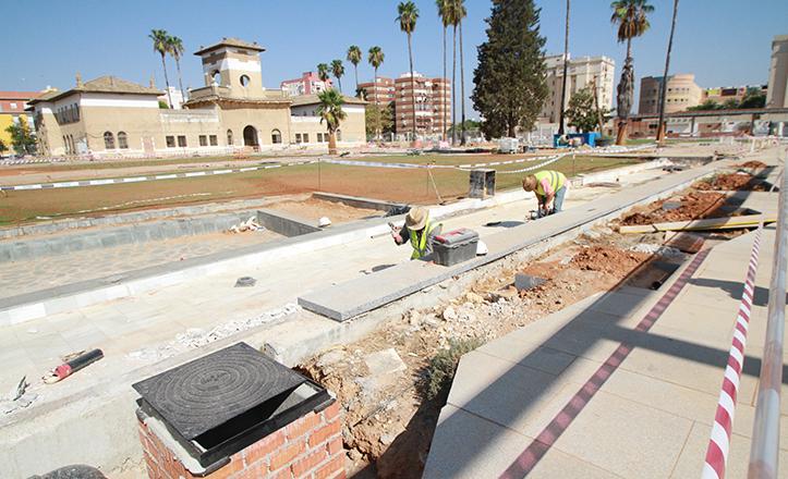 La finalización de las obras del Parque de La Ranilla está prevista para el próximo otoño, con doble uso residencial y sociocultural