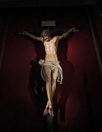 El Cristo de La Clemencia o de «Los cálices», de M. Montañés