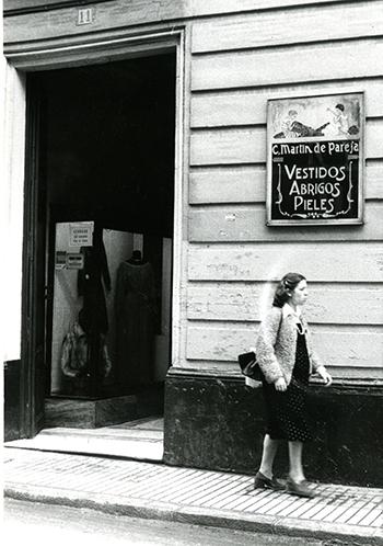 Comercio de la calle Méndez Núñez en 1977