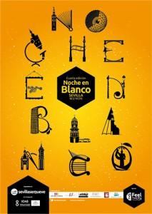 Cartel de la IV Noche en Blanco