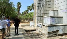 Daniel González Rojas visita el Parque Amate