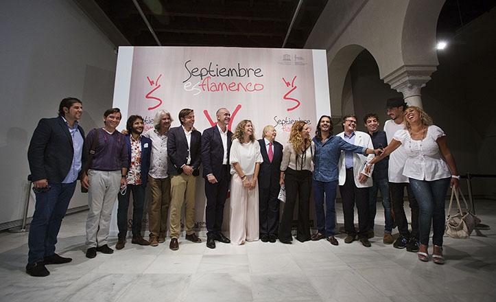Presentación de «Septiembre es flamenco» 2015