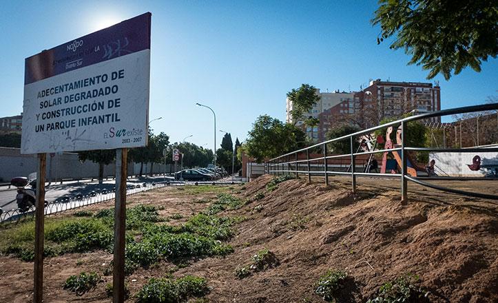 El parque Torcuato Luca de Tena