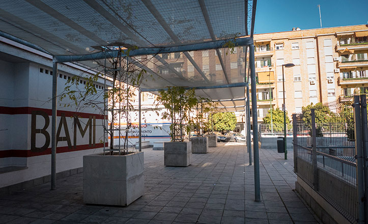 La plaza Rafael Salgado