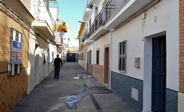 La calle Apolo