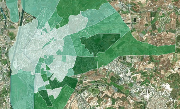 ¿Cuáles son los barrios más jóvenes de Sevilla?
