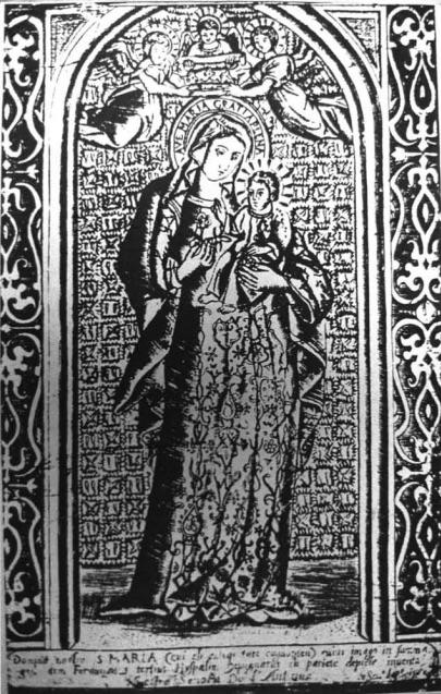 Imagen de la Virgen de la Antigua en la Catedral de Oura. - J.M.M.